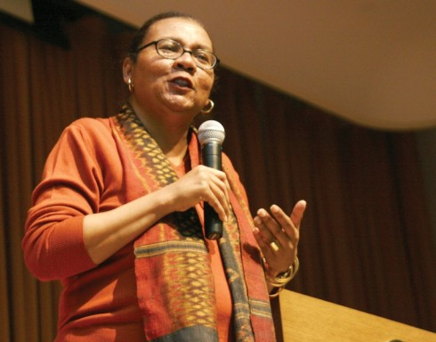 bell hooks.  (Source: Wikimedia Commons)