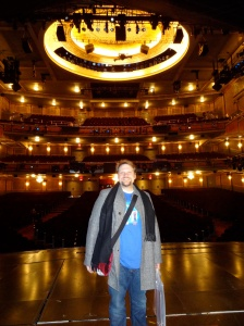"Stephen M. Jones at the Foxwoods Theatre, Home of ""Spider-Man, Turn Off the Dark"" (Source: Stephen M. Jones)"