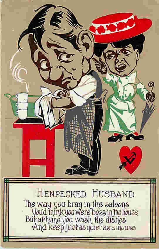 valentines day meme for him - Tales of the Henpecked Husband